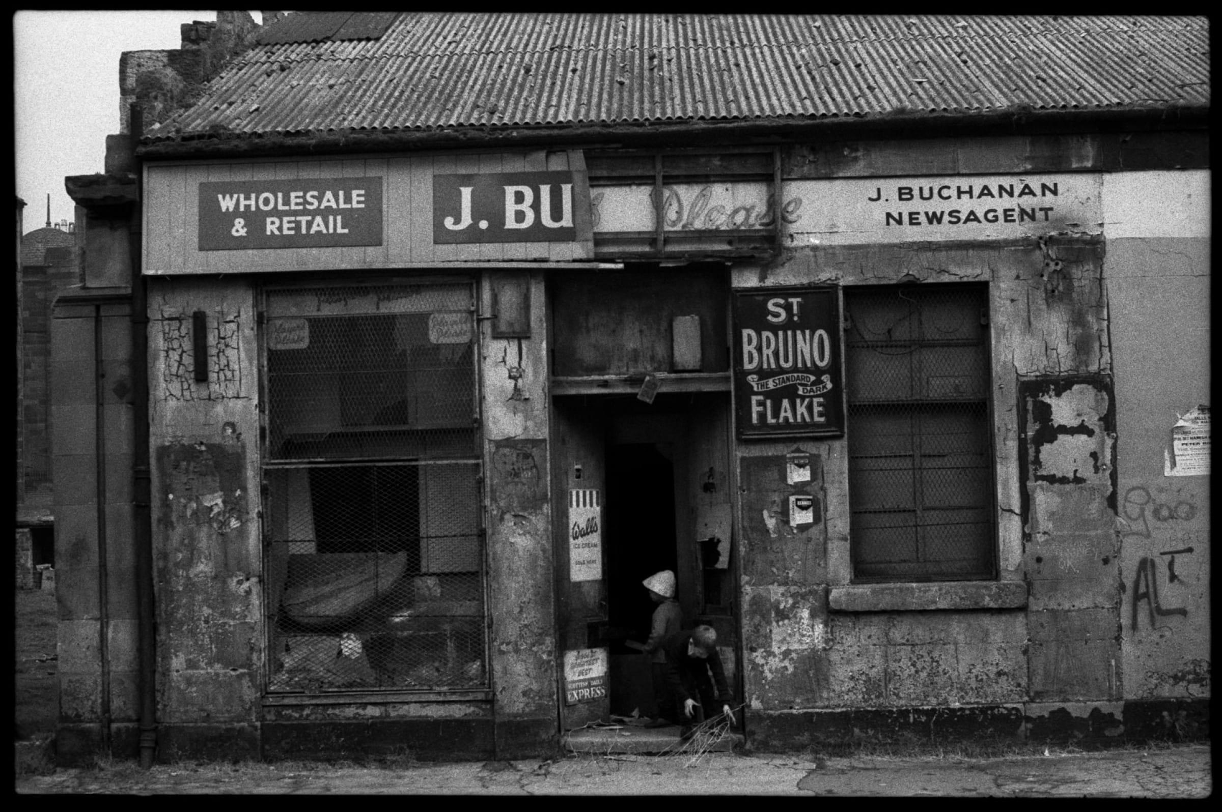 Top shop for urban explorers (Gorbal, 1966 (Steven Berkoff))