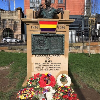 A ship that sailed for Spain... (Picture: Norry Wilson)