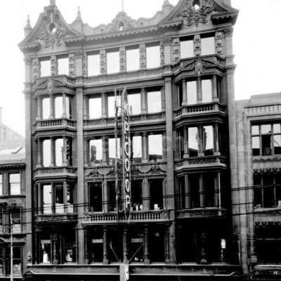 Glasgow's Garment District (The former Kinning Park Co-op (Mitchell Library))