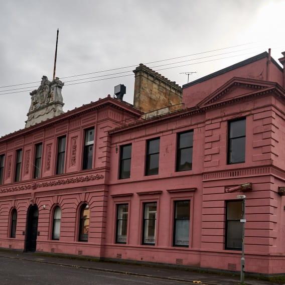 Pretty in Pink (The former Police Training College & Barracks. Bill Mackintosh)