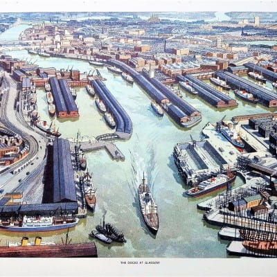 River city (Glasgow Docks, 1950s (MacMillan Publishing))
