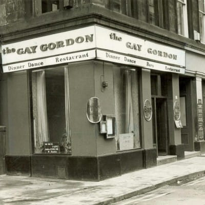 Peggy sure could play (The Gay Gordon, Royal Exchange Square (Herald and Times Group))