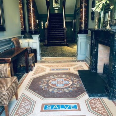 Tiny tiles - big welcome! (A Latin welcome and farewell at the Hotel du Vin)