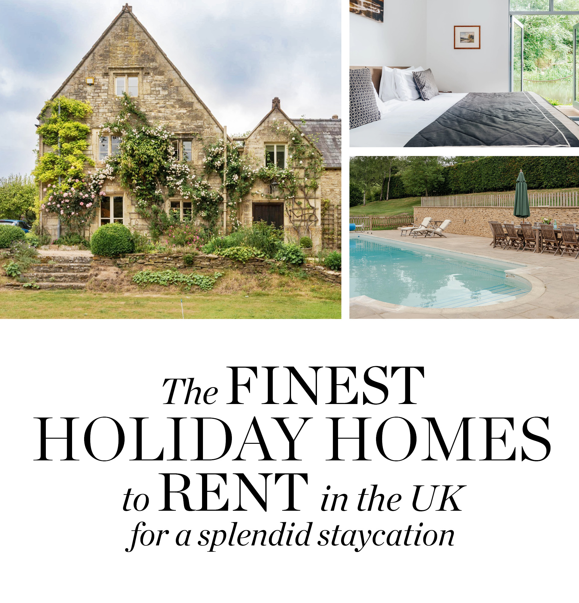 Discover the UK's best home rentals