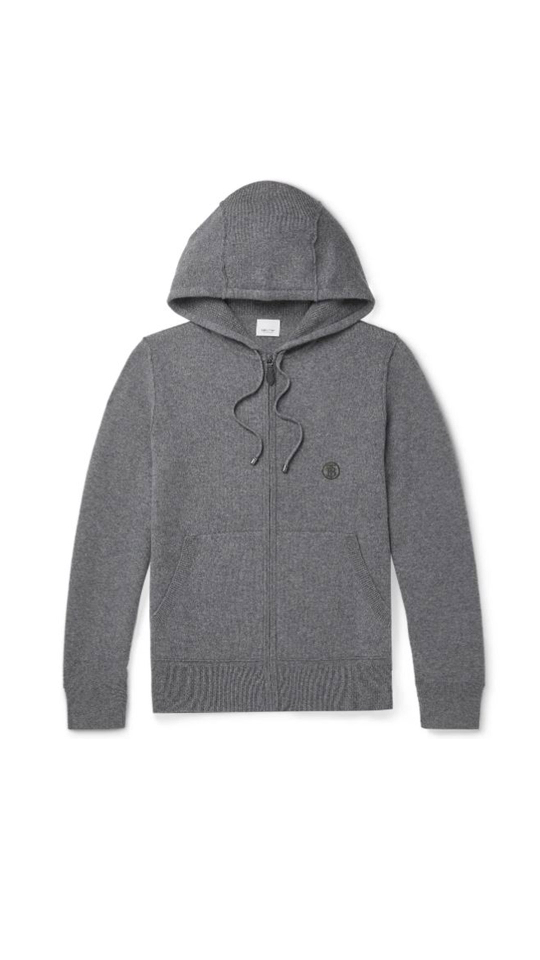 BURBERRY Zip-Up Hoodie