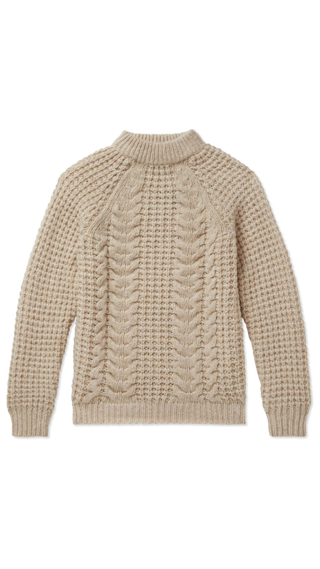 KNIGSMAN Cable-Knit Sweater