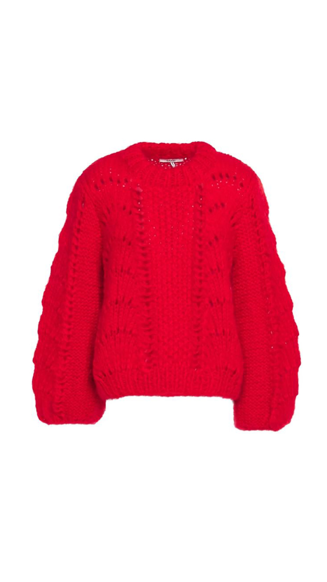 GANNI Mohair and Wool-Blend Sweater