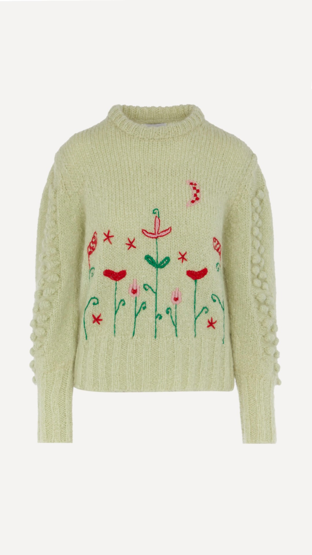 Hayley Menzies Gloria Floral Embroidered Jumper