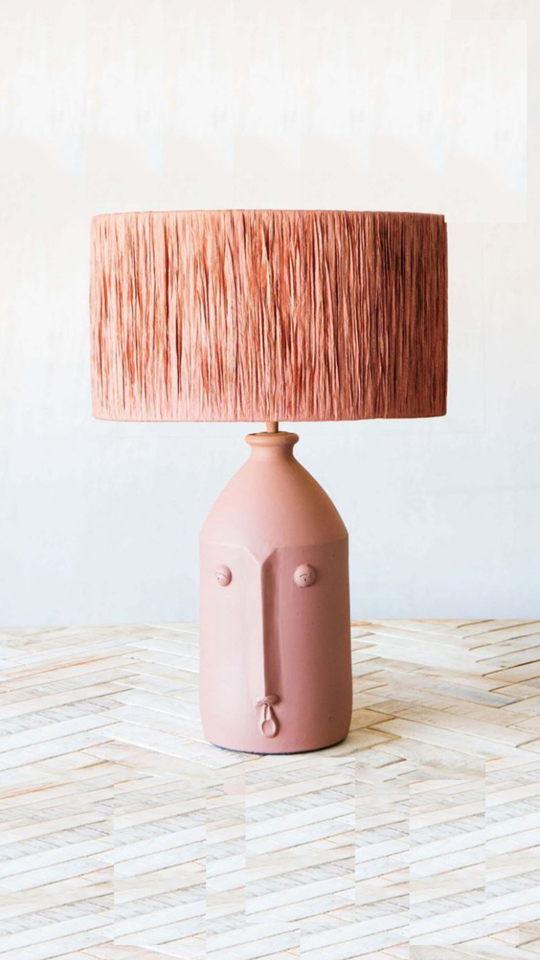 GRAHAM AND GREEN Alfeo Terracotta Lamp