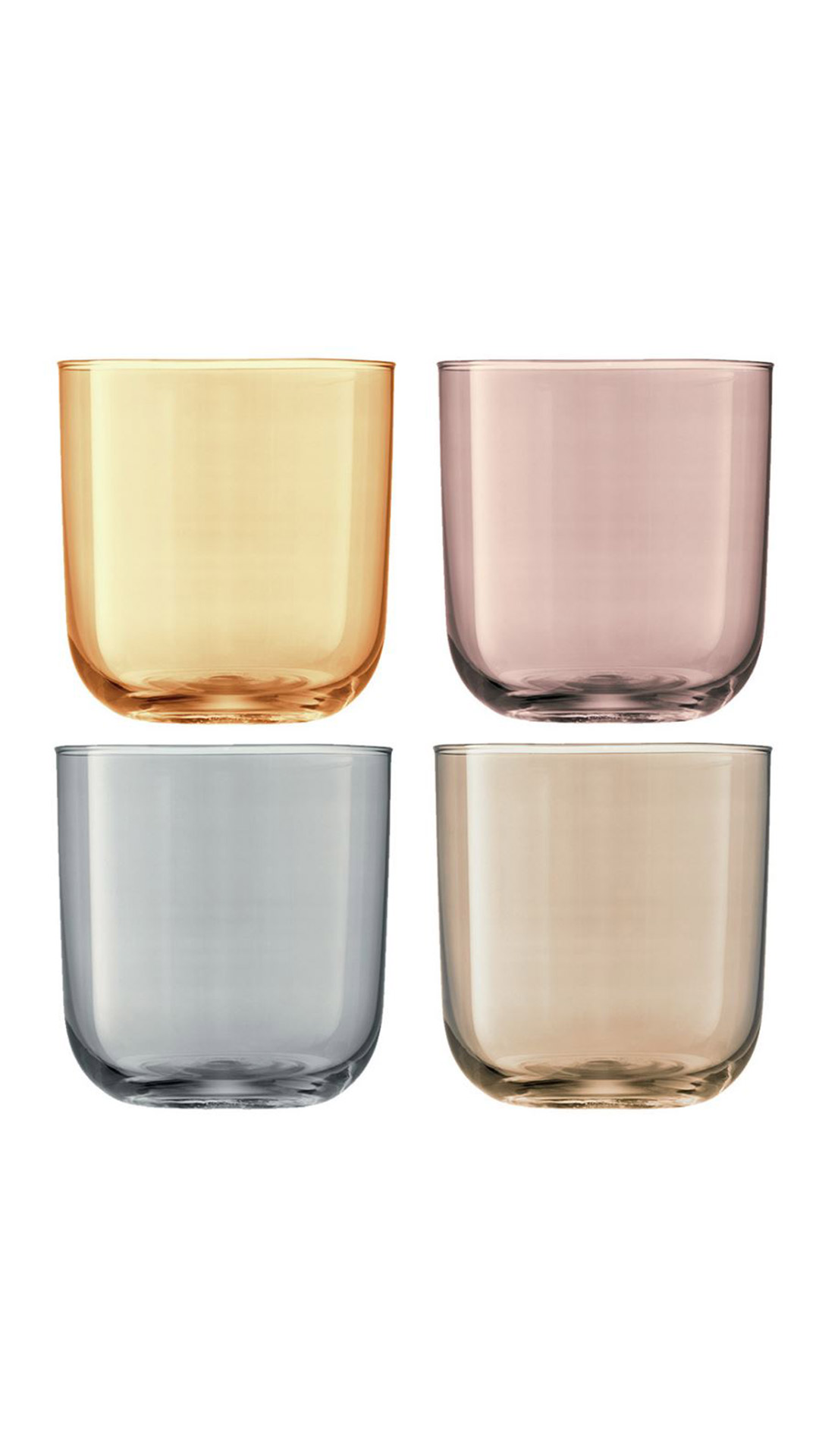 LSA INTERNATIONAL Polka Assorted Tumblers