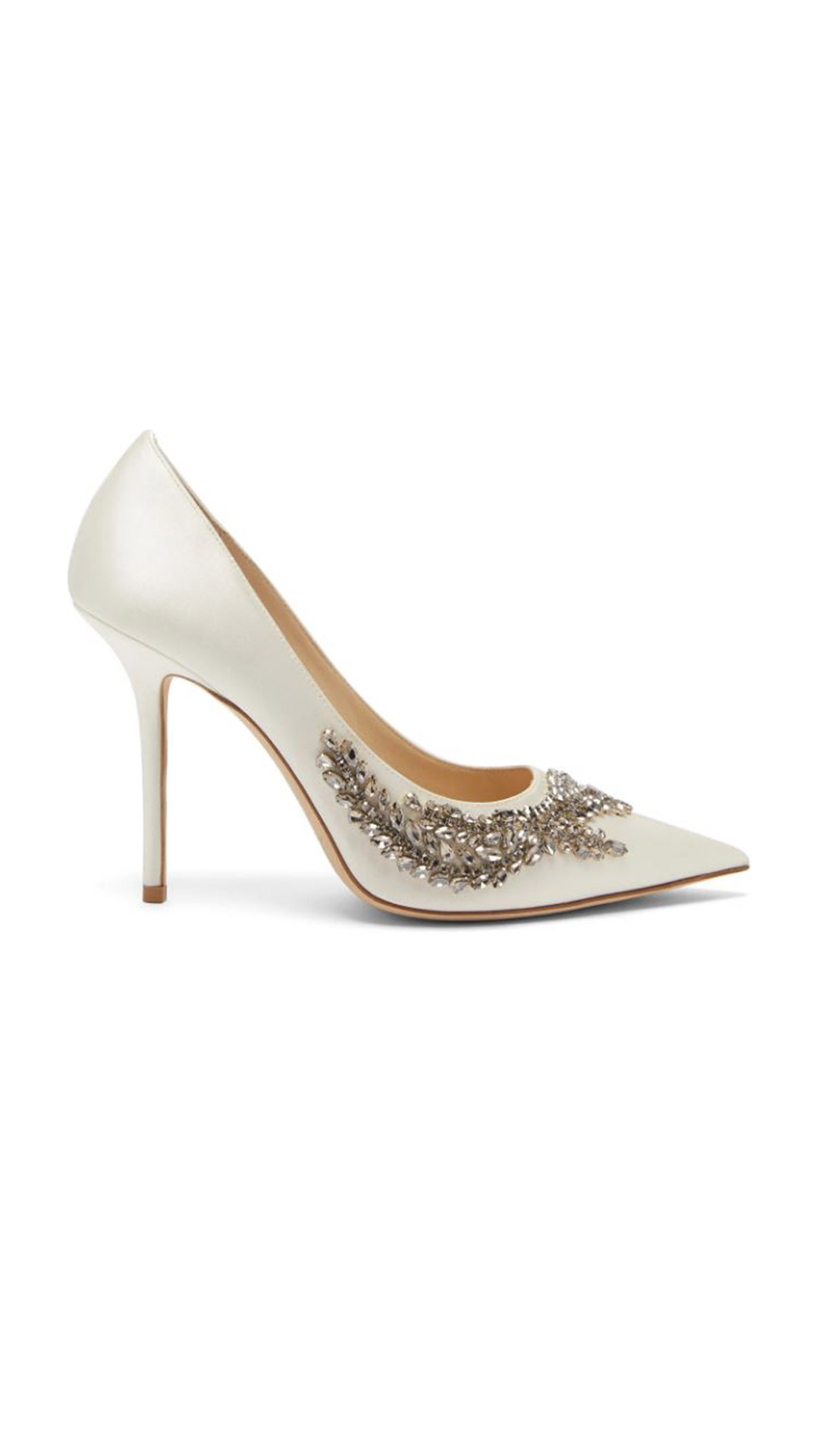 JIMMY CHOO Love Crystal-Embellished Pumps