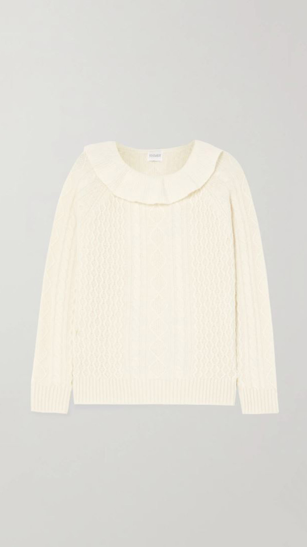 MADELEINE THOMPSON Rourke Cashmere Sweater