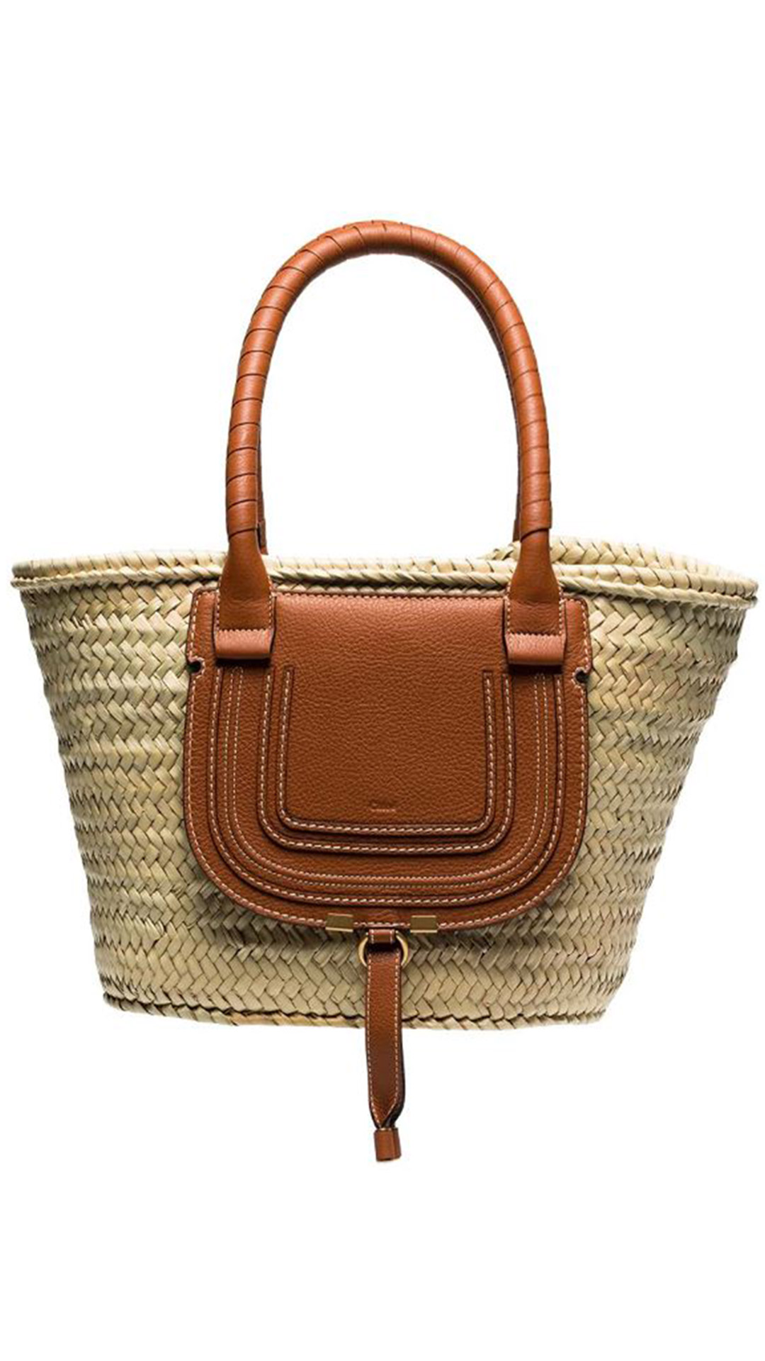 CHLOÉ Marcie Basket Bag