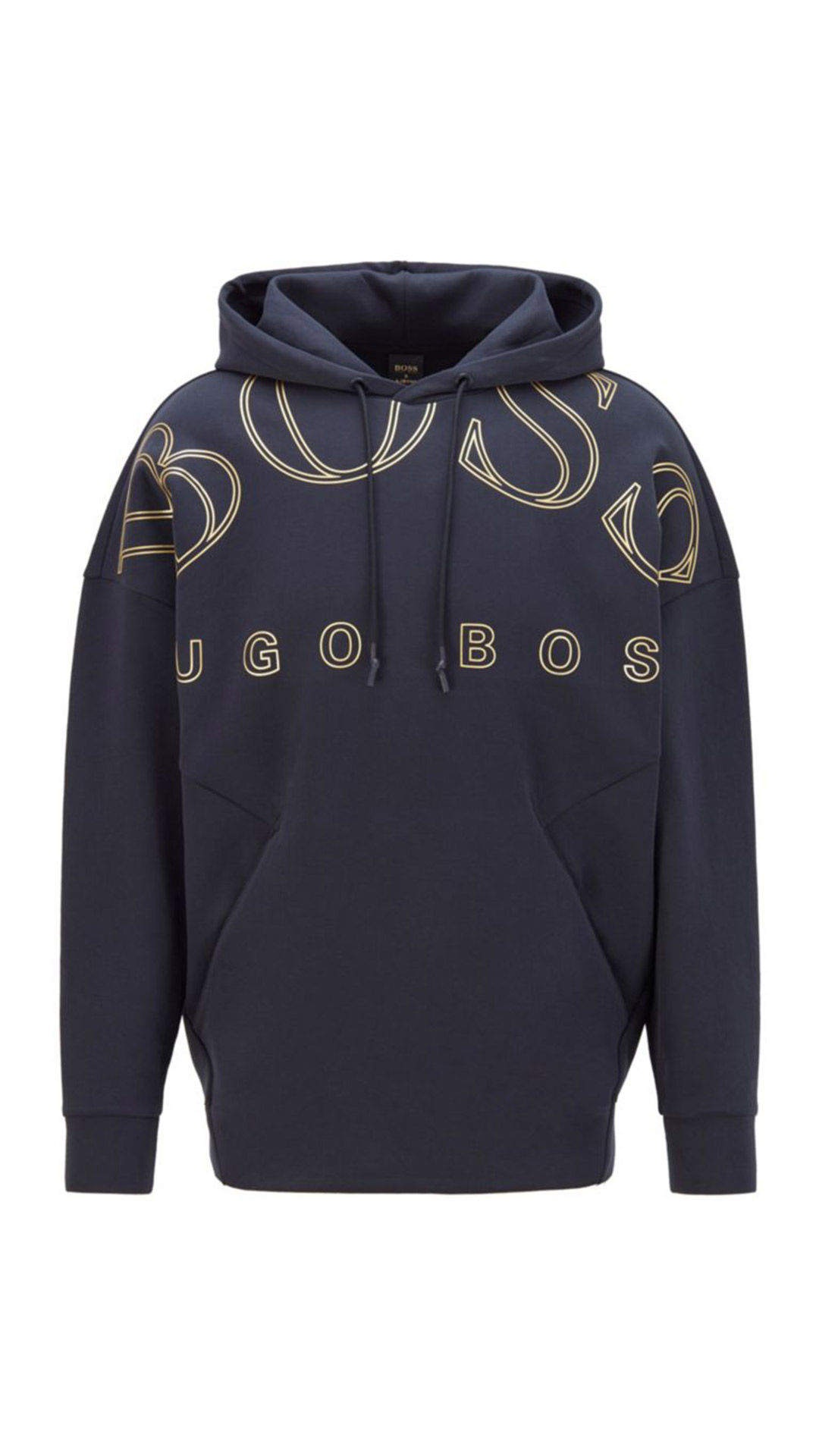HUGO BOSS Relaxed-Fit Hoodie