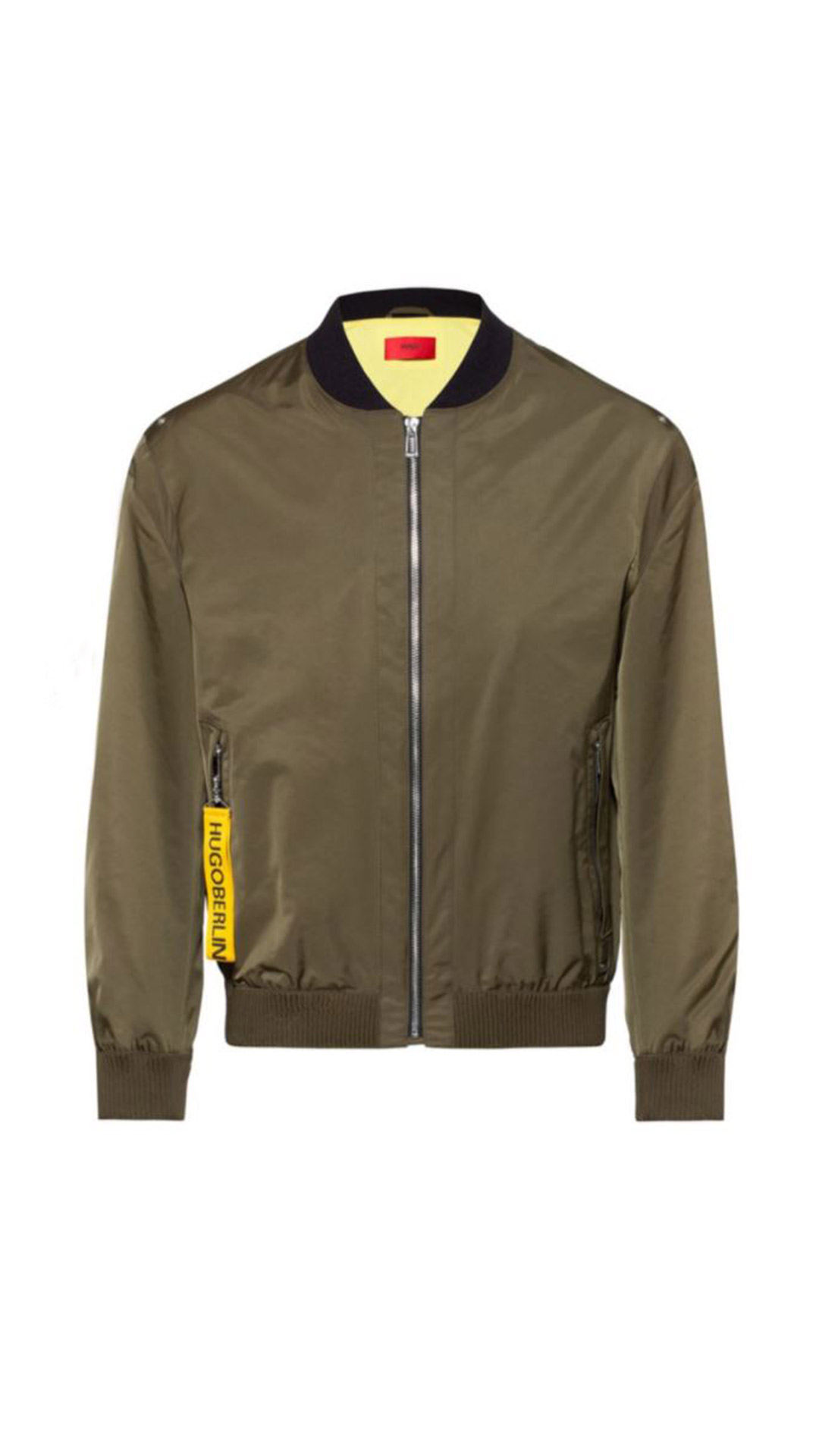 HUGO BOSS Water-Repellent Bomber Jacket