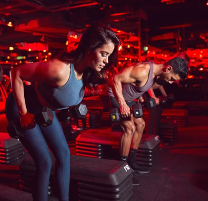 Barry's - Crossrail Place - 10% off all packages of 10 classes