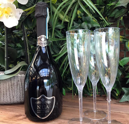 The Grandstand Bar - Canada Square Park - 50% off bottles of Prosecco