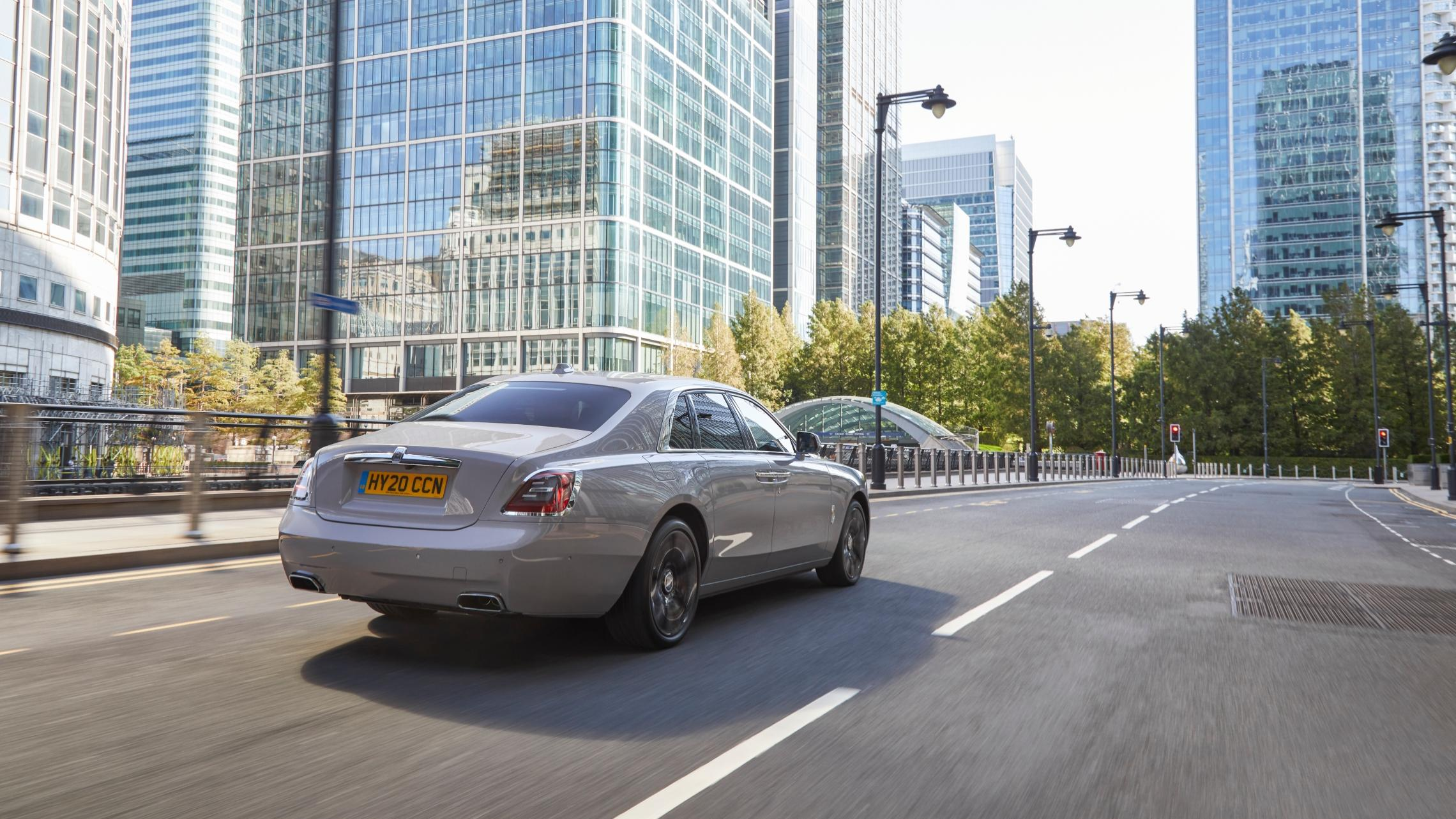 The Rolls Royce Ghost 2020 Review The Brand New Baby Roller Motoring Drive Luxury London