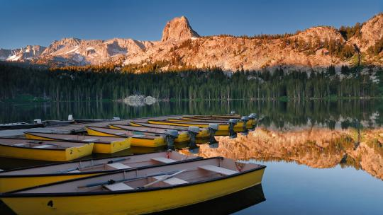 <h1>Mammoth Lakes: California's celebrity ski spot </h1>