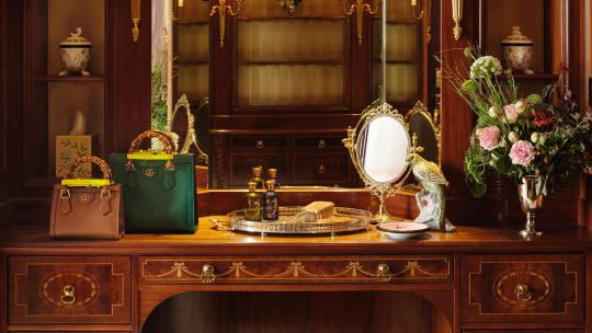 The Savoy's Royal Suite created in partnership with Gucci