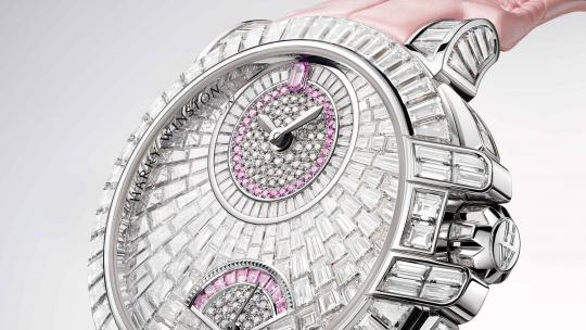<h1>The Harry Winston Ocean Waterfall Automatic: a Shower of Diamonds</h1>