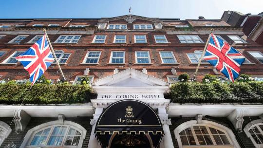 The Goring London review
