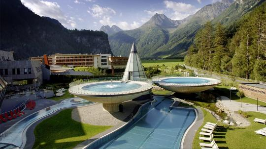 luxury spas, austria