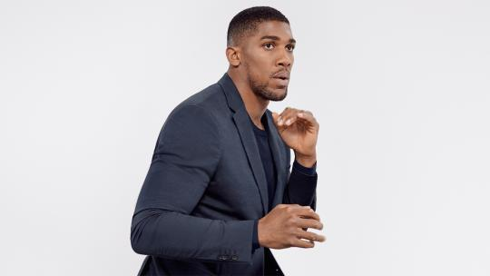 anthony joshua, interview, hugo boss