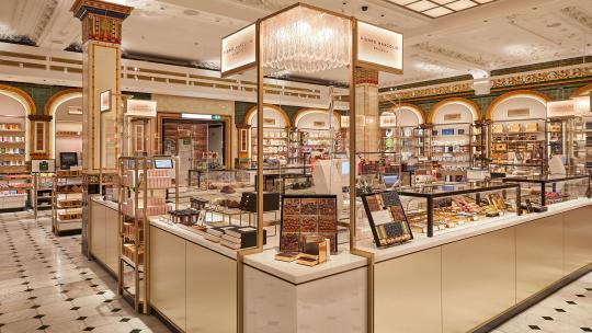 harrods chocolate hall