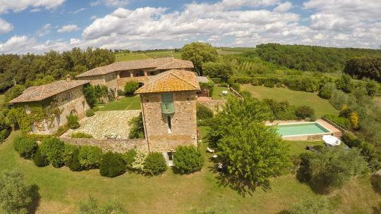 tuscany luxury private villa