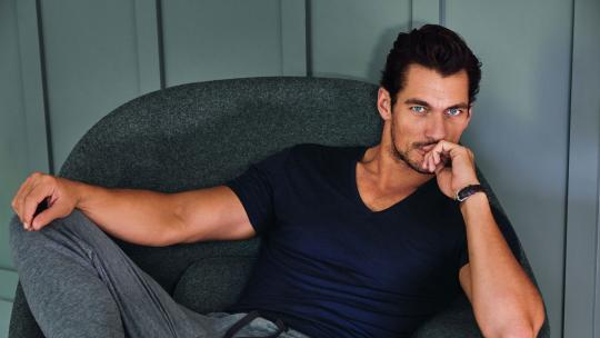 David Gandy, fitness interview