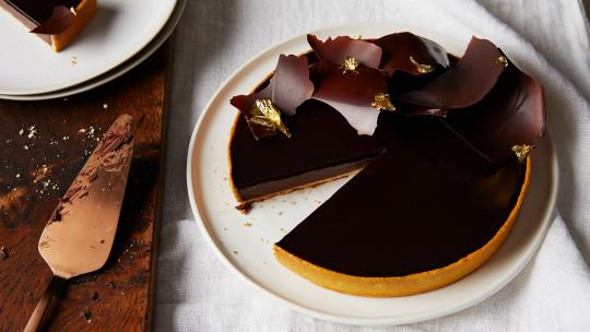 coworth park chocolate tart