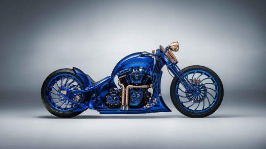 The Harley-Davidson Blue Edition