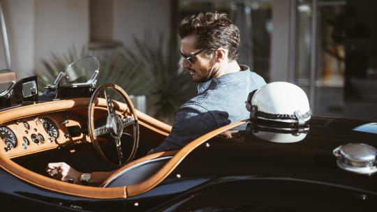 <h1>Big cats only: David Gandy's tailor-made Jaguar</h1>
