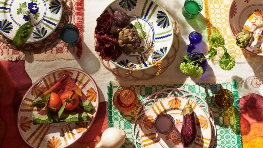 how to tablescape