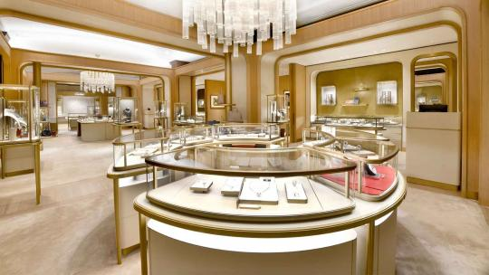 The New Cartier Boutique At Harrods, Knightsbridge