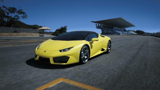 <h1>Lamborghini Huracán Spyder: A Rear-Wheel Rocket</h1>