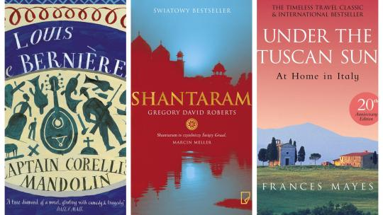 Carrier Recommends best travel books
