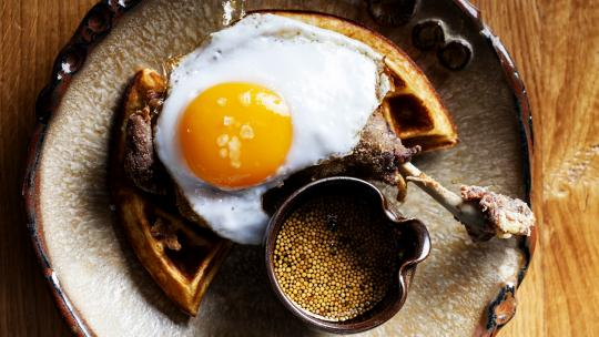<h1>Brunch, lunch & more at London's highest 24-hour restaurant, Duck & Waffle</h1>