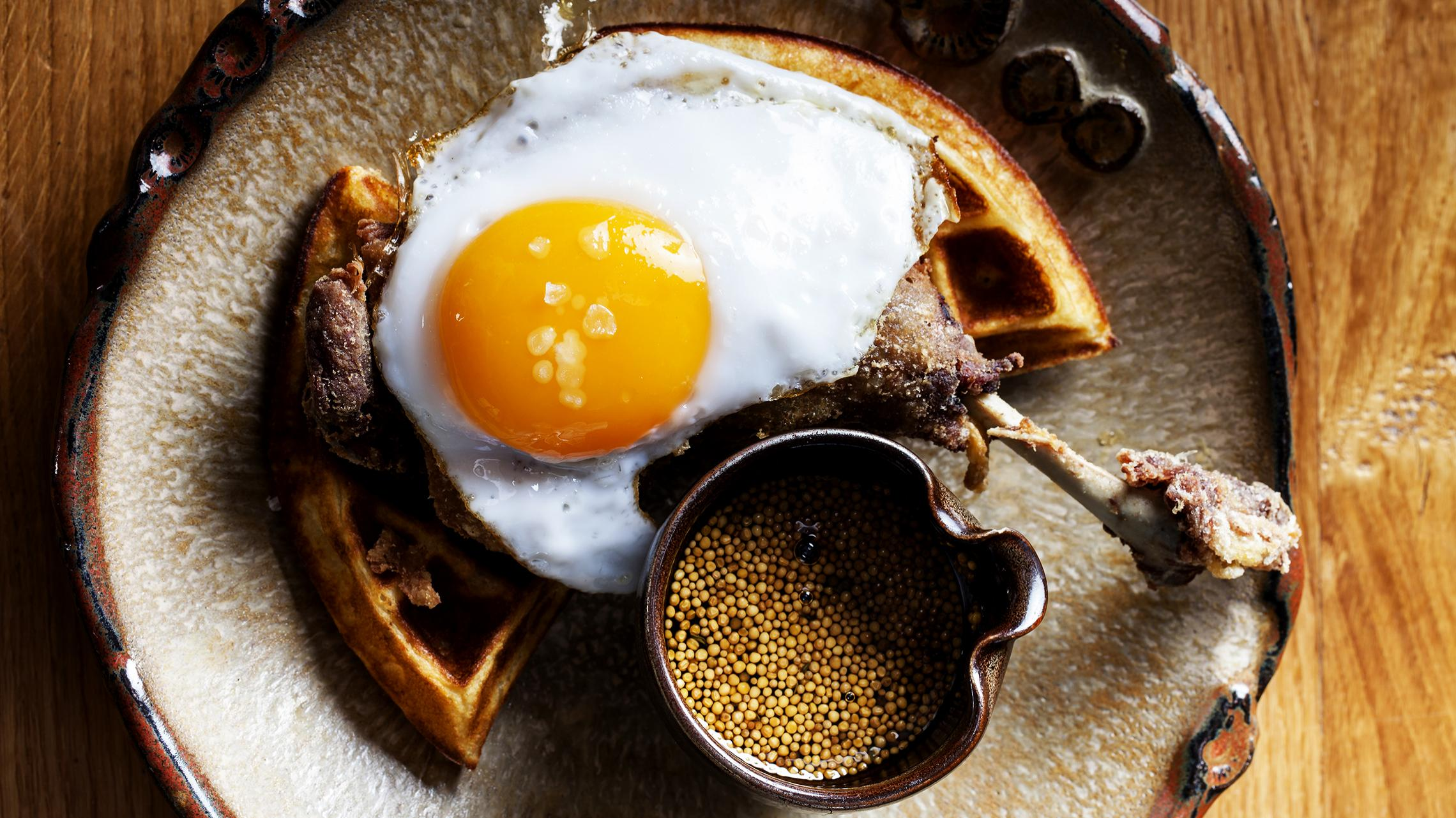 Image result for duck and waffle