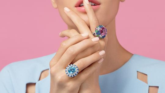 <h1>Sweet Like Candy: Harry Winston Cocktail Ring Collection</h1>