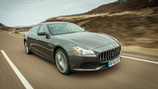 <h1>Behind The Wheel Of The Maserati Quattroporte S</h1>