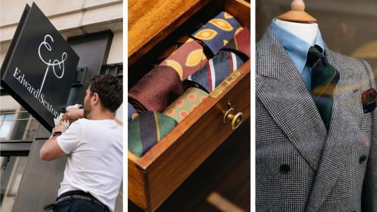 Edward Sexton returns to Savile Row