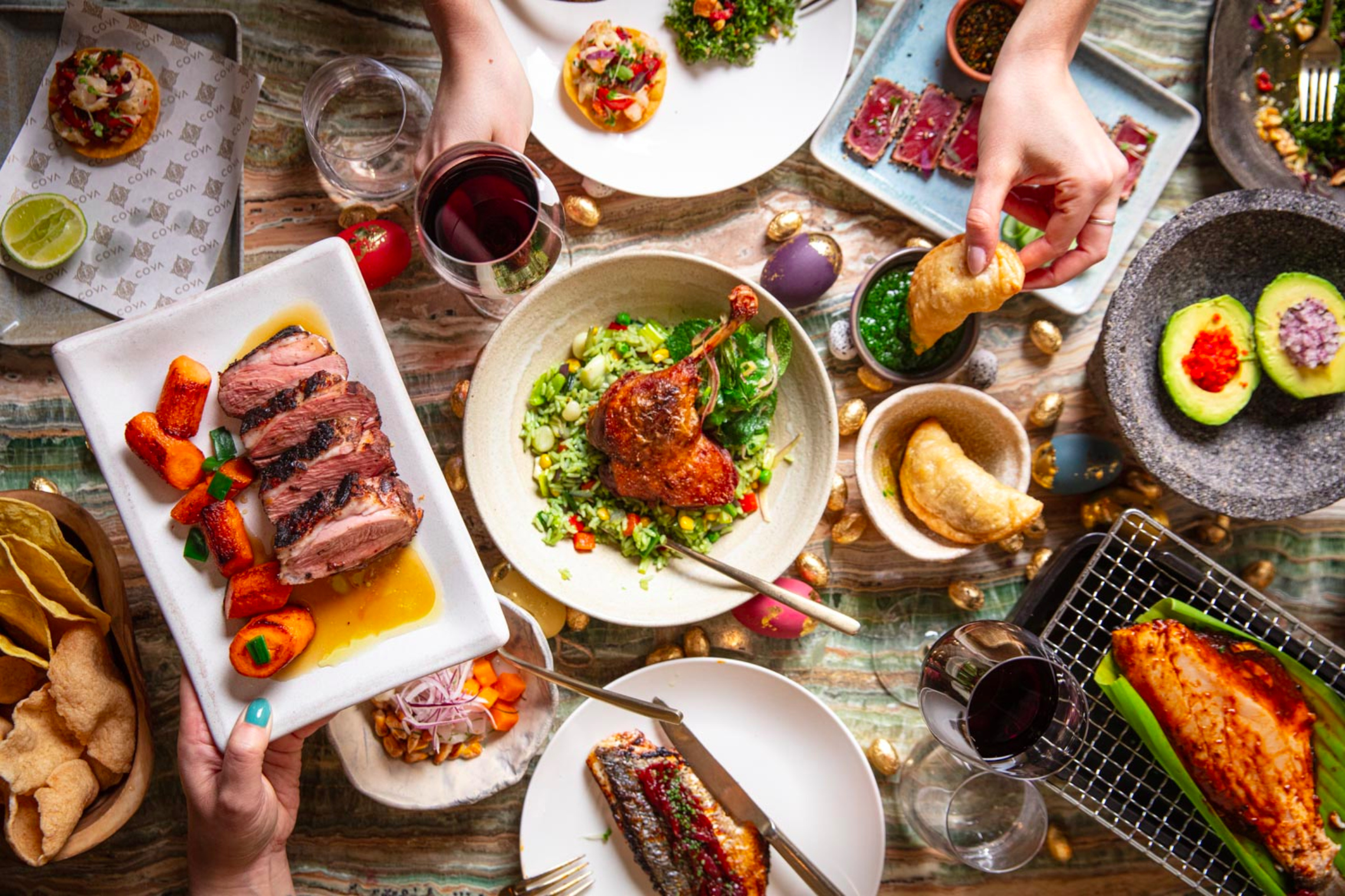 coya mayfair easter lunch delivery