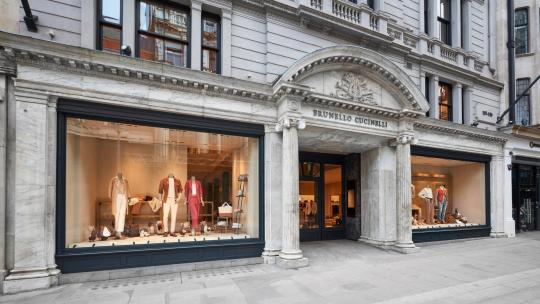 <h1>Brunello Cucinelli opens a new flagship boutique on New Bond Street</h1>