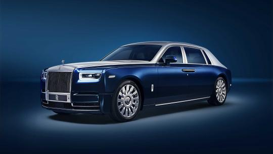 rolls royce Extended Wheelbase Phantom privacy suite