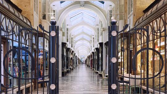 Beneath The Arches Of The Burlington Arcade, Mayfair