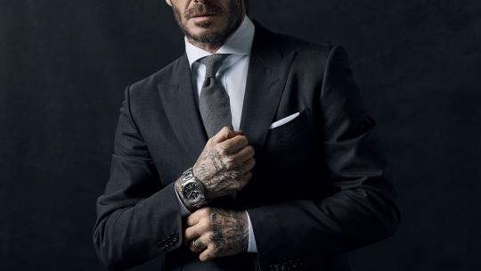 Watches worn by David Beckham
