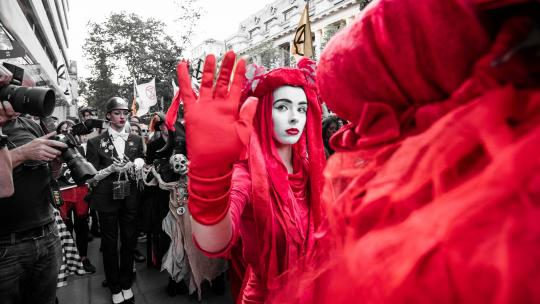 <h1>Fashion statement: how Extinction Rebellion upturned London Fashion Week  </h1>