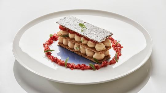 pied a terre strawberry millefeuille